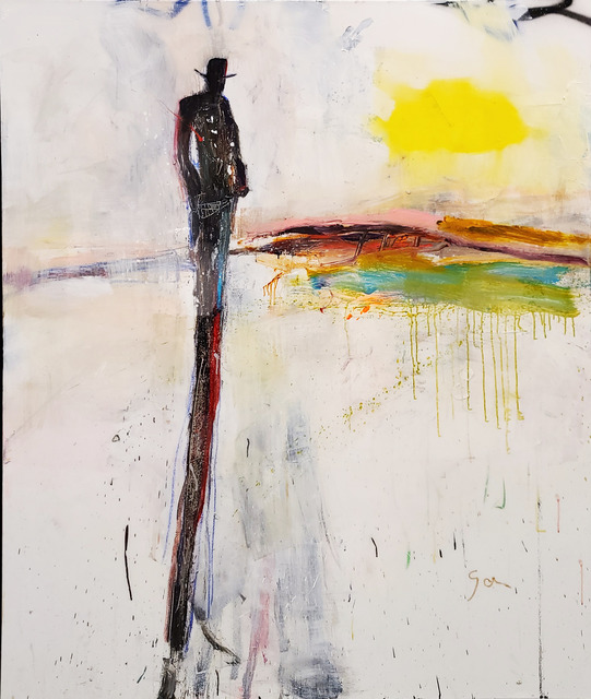 Michael Gorman, 'Southwest', 2021, Painting, Mixed media on canvas, Axiom Contemporary