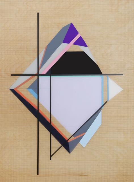 , 'Grid Origami #5,' 2014, Muriel Guépin Gallery