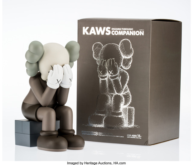 KAWS, 'Companion- Passing Through (Brown)', 2013, Other, Painted cast vinyl, Heritage Auctions