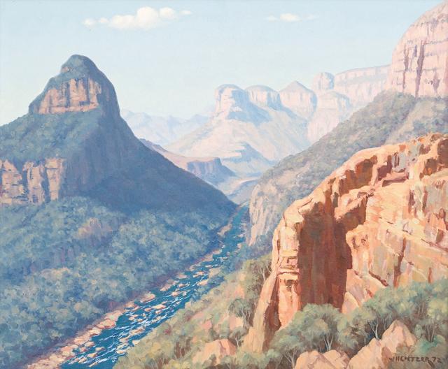 Willem Hermanus Coetzer, 'Blyderivier Canyon', Strauss & Co