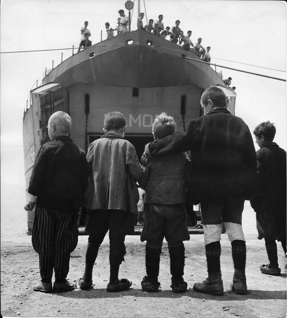 David Seymour, 'Greece, saving children', 1948, °CLAIR Galerie