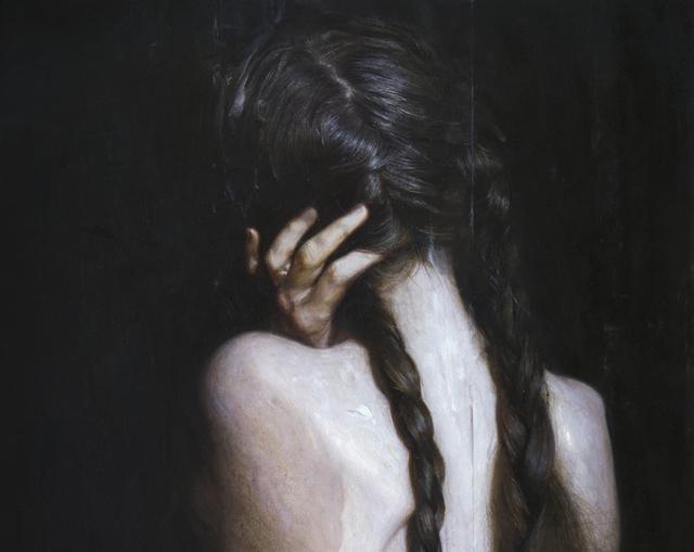 Viktoria Savenkova, 'Braids', 2020, Painting, Oil on canvas, 33 Contemporary