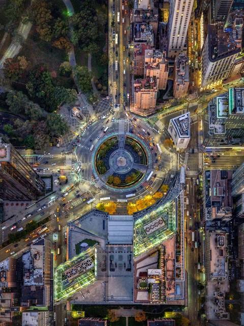 , 'NYC Columbus Circle - NY Aerials,' 2019, ARTITLEDcontemporary