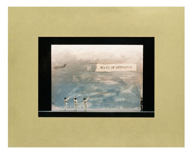 , 'Skizzen zum Projekt Großes Theater: Alles in Ordnung,' 1980, Moderna Museet