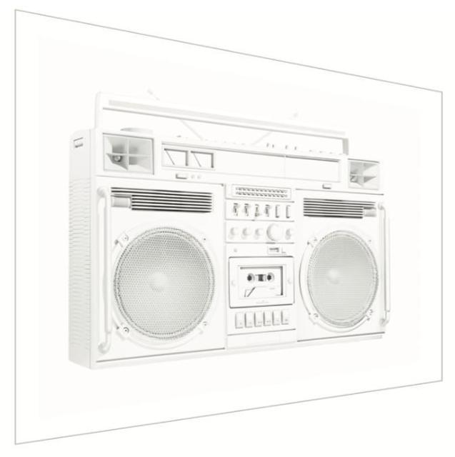 , 'White Trapezoid Boombox - Version .001 (Right),' 2019, Art Angels