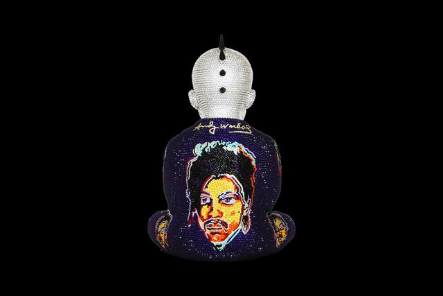 , 'Punk Buddha Purple Rain feat. Warhol,' ca. 2019, Samuel Lynne Galleries