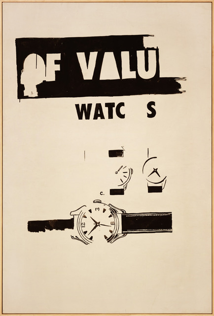 , 'Watches,' 1961, Gagosian Gallery