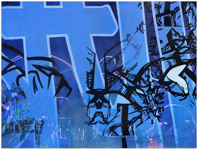 Tanner Goldbeck, 'Venetian Blue', 2019, Disruptive Canvas
