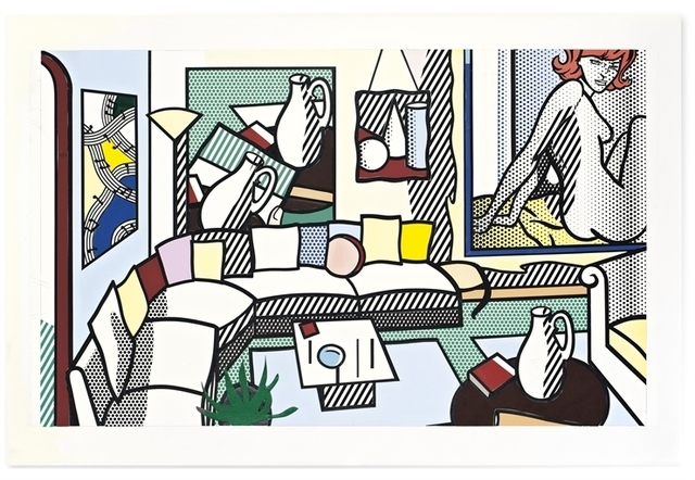 Roy Lichtenstein, 'Collage for Interior: Perfect Pitcher', Christie's