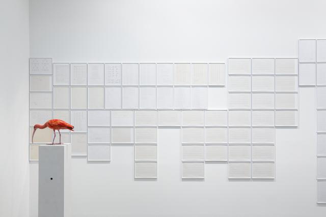 , 'K4-Schriftblätter (detail),' 1995-2014, Galerie Thomas Schulte