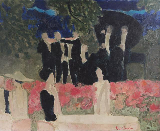 Andre Brasilier, 'Le Pavillon Royal (Bois de Boulogne), ', 1965-1966, Taylor | Graham