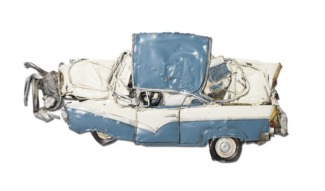 , 'Pressed Model Blue Fairlane ,' 2018, Over the Influence