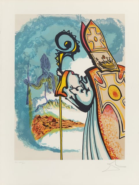Salvador Dalí, 'King Richard, from Ivanhoe', 1977, Heritage Auctions