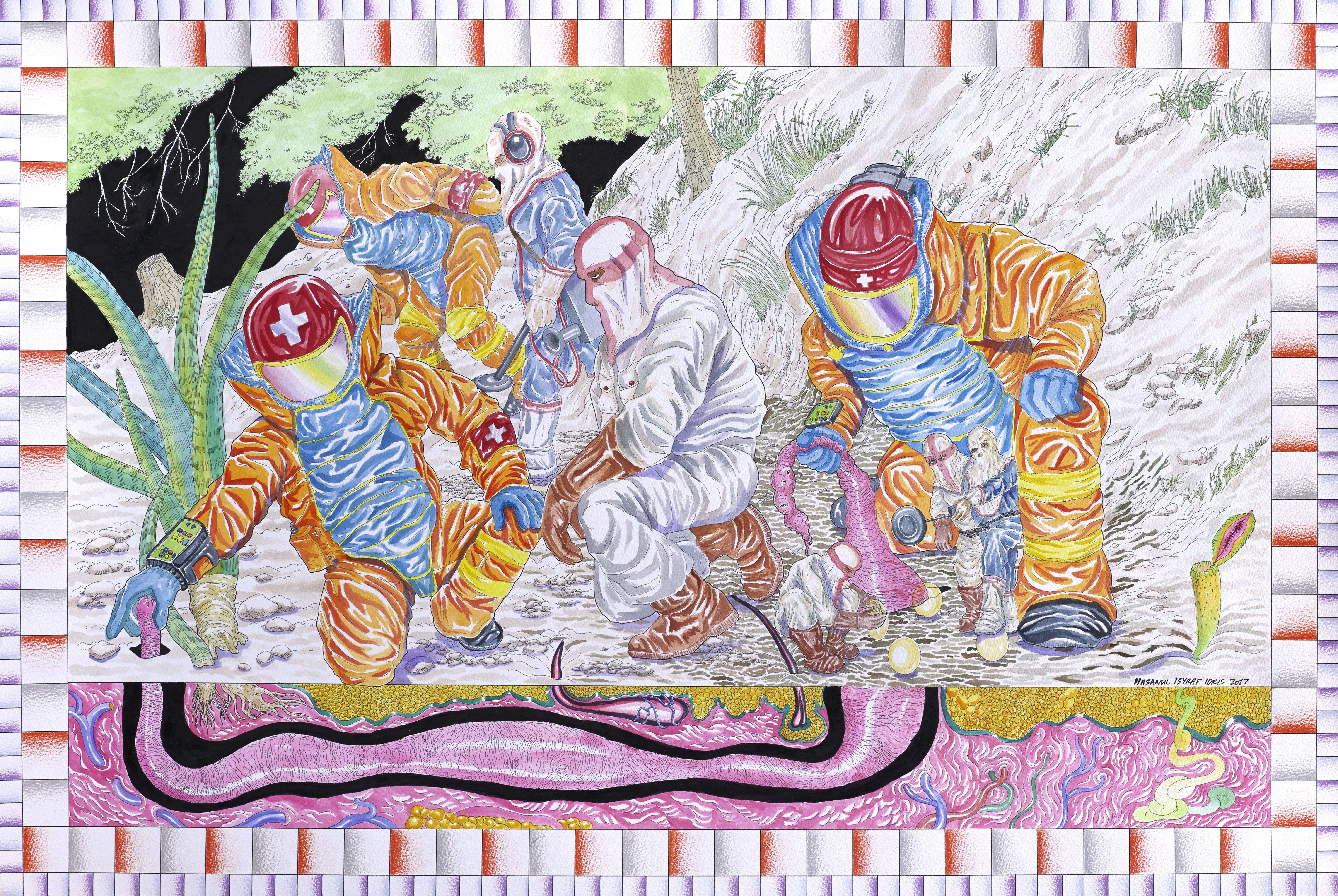 , 'The Most Widespread Dahaga,' 2017, Richard Koh Fine Art