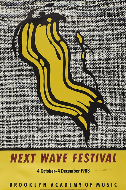 Roy Lichtenstein, 'Next Wave Festival (Brooklyn Academy of Music Poster)', 1997, Rago