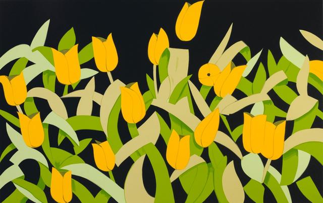 , 'Yellow Tulips,' 2014, Meyerovich Gallery