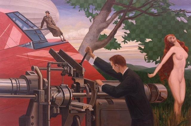 , 'Revolver Lathe,' 2015, Galerie Kleindienst