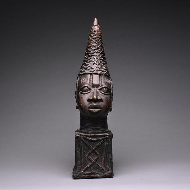Unknown Benin, 'Benin Style Bronze Head of a Mother Queen', 20th Century AD, Barakat Gallery