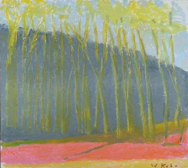 Wolf Kahn, 'Purple Path', 2018, Addison/Ripley Fine Art