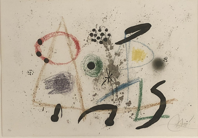 Joan Miró, 'Maraveillas con Variaciones', 1975, Bethesda Fine Art