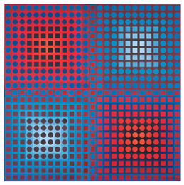 Victor Vasarely, 'EG 1-2,' 1965, Sotheby's: Contemporary Art Day Auction