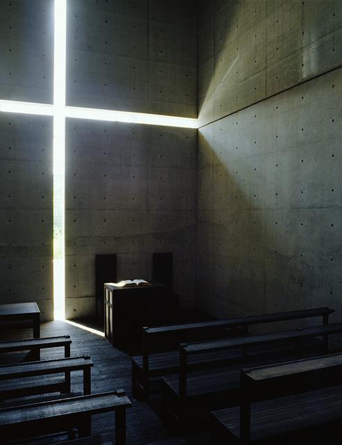 , 'Church of the Light (color 1500 C),' taken in 1989-printed in 2019, Akio Nagasawa Gallery
