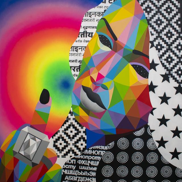 , 'Fuck You 1,' 2019, Corey Helford Gallery