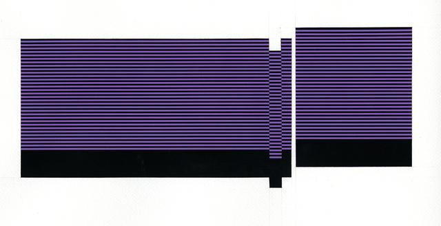 , 'Field/Terrace (Violet),' 2016, Joseph Nease Gallery