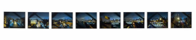 , 'Pulaski Crossing (8 Panels),' 2016, Gallery Henoch