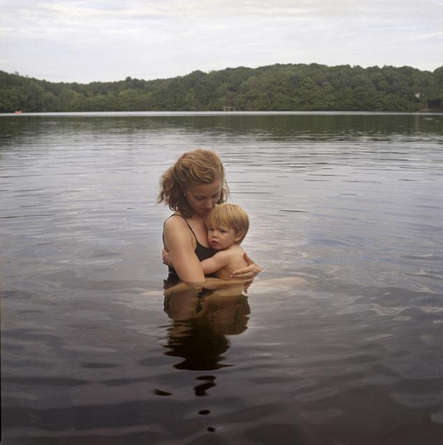 , 'Self Portrait with Nicholas (lake),' 2009, Rick Wester Fine Art