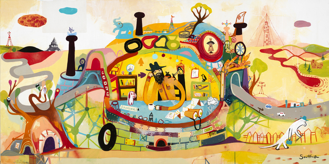 , 'Souvenir Collector,' 2013, Jonathan LeVine Projects