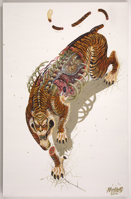 , 'Dissection of Mother Tiger,' 2014, Jonathan LeVine Projects