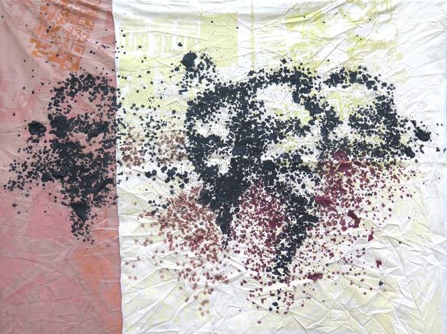 , 'Section 1, série Les pétroliers,' 2017, Galerie Cécile Fakhoury - Abidjan