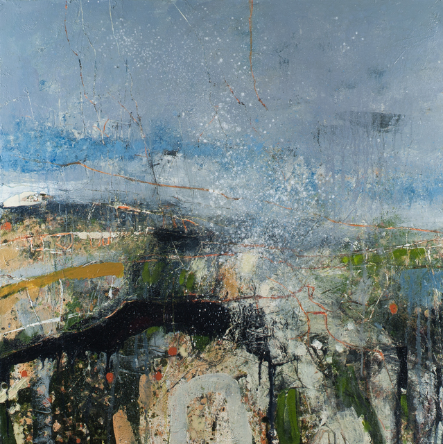 , 'Unexpected Hailstorm, Black Tor Ridge,' 2017, Thackeray Gallery