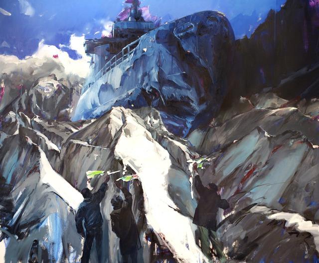 , 'The Crossing,' 2011, Neubacher Shor Contemporary