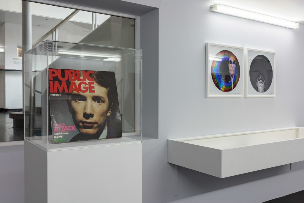 Installation view of Dennis Morris: PiL - First Issue to Metal Box