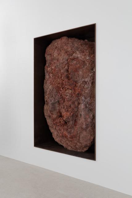 , 'Scoria Negative Wall Sculpture,' 2016, Gagosian
