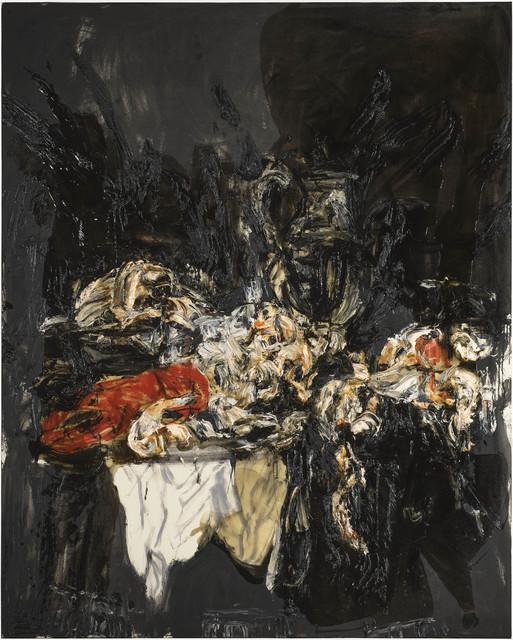 , 'Asetelma Abraham van Beyerenin mukaan 1,' 2017, Galerie Forsblom