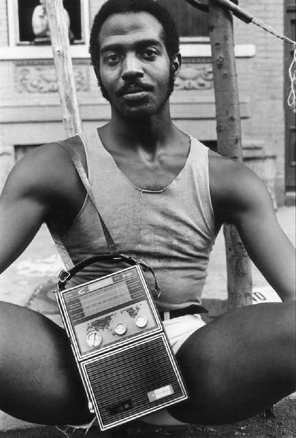 , 'Guy with Radio, East 7th Street,' 1977, Galerie Bene Taschen