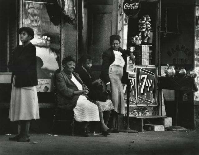 , 'Neighbors, Harlem, New York,' 1952, Howard Greenberg Gallery