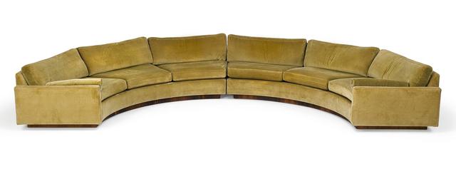 Terrific Milo Baughman Thayer Coggin Sectional Sofa And Two Sofa Creativecarmelina Interior Chair Design Creativecarmelinacom