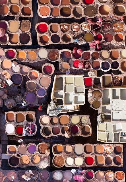 Katrin Korfmann, 'Chouara, Fes, 11th Century Tannery Morocco', 2018, Kopeikin Gallery
