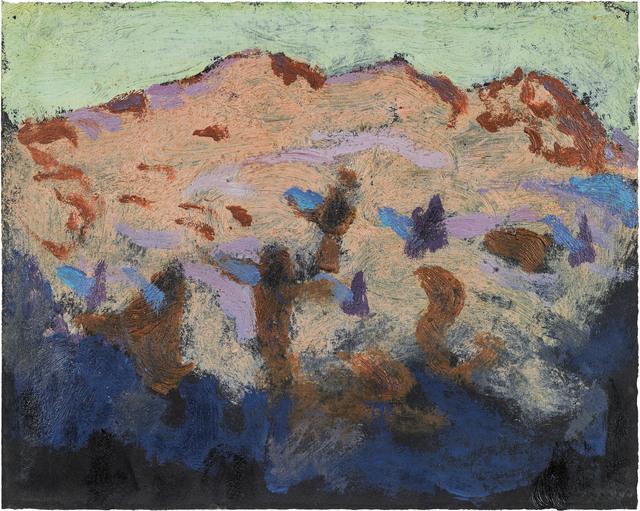 , 'Mountains at dawn,' ca. 1922, Galerie Kovacek