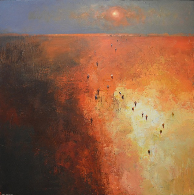 , 'Through the Red Centre,' 2017, Wentworth Galleries