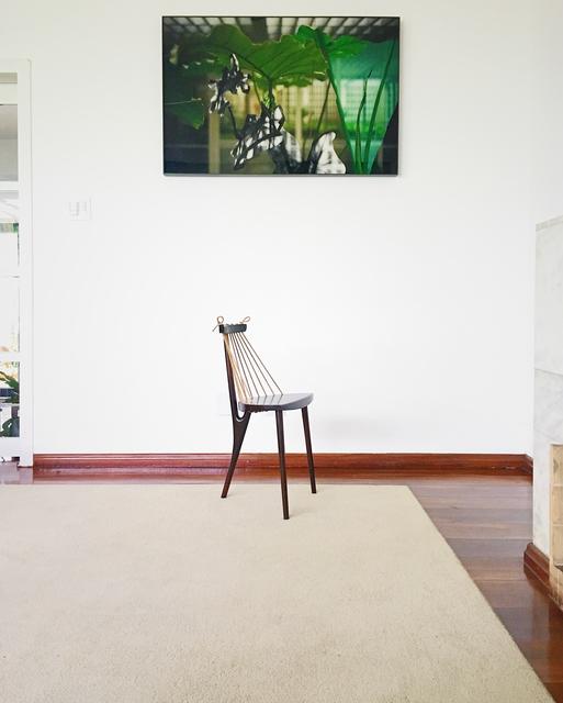 , ''3 Pés' chair in Brazilian Rosewood,' 2017, Apartamento 61