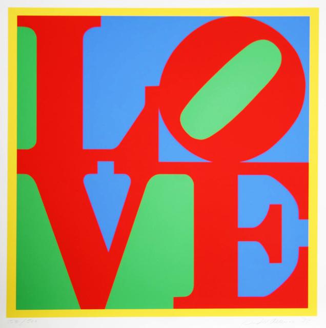 Robert Indiana, 'HELIOTHERAPY LOVE', 1995, Gallery Art