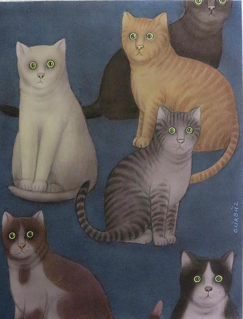 , 'Cats,' , Galeri Selvin