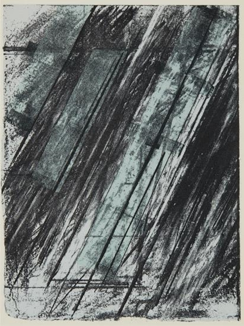 Cy Twombly, 'Untitled, from the Collection of Ileana Sonnabend and the Estate of Nina Castelli (Bastian, 38)', 1973, Alpha 137 Gallery