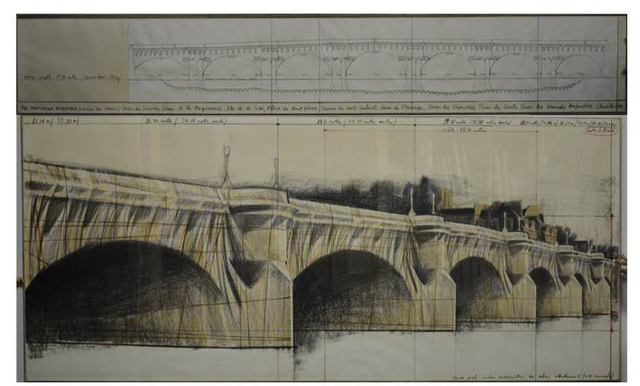 , 'The Pont Neuf Wrapped, Project for Paris ,' 1981, Galleria Tega