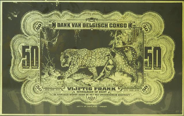 Hank Willis Thomas, 'Bank Van Belgisch Congo', 2019, MARUANI MERCIER GALLERY